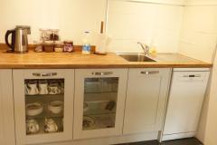 kitchenette with dishwasher