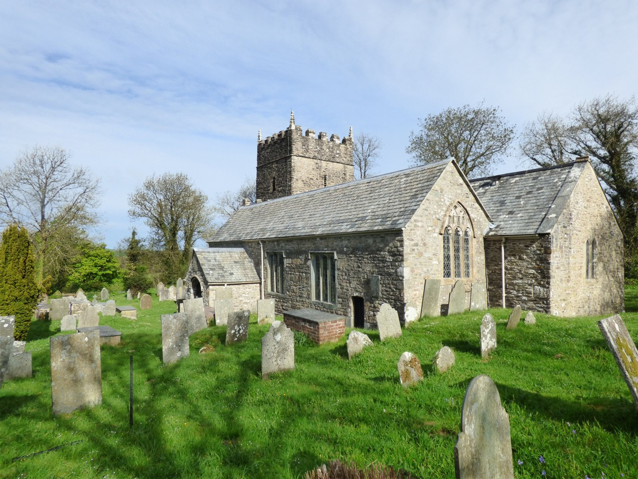 St Petrocks historic church